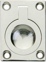 Intersteel - Luikring -  recht - 40x30mm - nikkel - 0018.752510