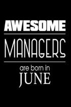 Awesome Managers Are Born in June