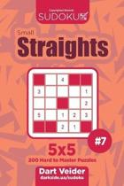 Sudoku Small Straights - 200 Hard to Master Puzzles 5x5 (Volume 7)