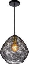 Lucide SAAR Hanglamp - Ø 28 cm - E27 - Zwart