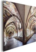 Kloostergang - Schilderij 90 x 60 cm