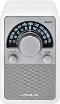 Sangean WR-15 BT - Tafelradio met Bluetooth - Wit