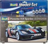 """Model Set Porsche 918 Spyder  """"Weissach (Martini Racing Design)"""