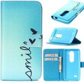 iCarer Smile wallet case hoesje LG K7