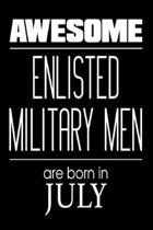 Awesome Enlisted Military Men Are Born in July