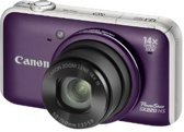 Canon PowerShot SX220 HS Bundel  (Retail, 8 GB SD-Card, Tas)