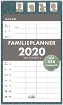 Hobbit familieplanner scheur kalender D3 week 2020 voor maximaal 4 personen