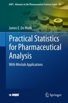Practical Statistics for Pharmaceutical Analysis