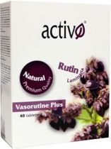 Activo Vasorutine Plus - 40 tabletten  - Voedingssupplement