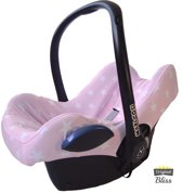 Bliss - Maxi Cosi Hoes voor Cabriofix Pebble Citi - Ster Lichtroze