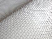 64 x 64 cm Aida 20 Count witte borduurstof  - wit borduurstramien 8 kruisjes per cm Katoenen handwerkstof white