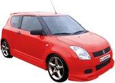 Carcept Voorspoiler Suzuki Swift HB 2005- excl. Facelift