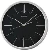 Seiko wandklok QXA714A - zwart aluminium 30cm