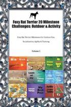 Foxy Rat Terrier 20 Milestone Challenges