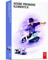 Adobe Creative Suite Premiere Elements 8.0, Win, DVD, Retail, NL