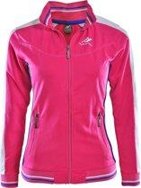 Rucanor - Trainingsjacket Dee SR 937 - Sportjas - Volwassenen - Maat L - Hardroze/ Combi