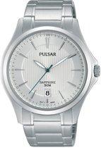 Pulsar PS9383X1 horloge heren - zilver - edelstaal