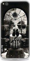 Casetastic Softcover Huawei P8 Lite (2017) - Room Skull BW