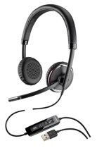 Plantronics Blackwire C520-M Stereofonisch Hoofdband Zwart hoofdtelefoon