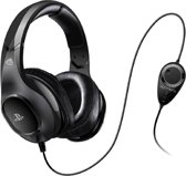 4Gamers Premium Wired Stereo Gaming Headset - Official Licensed - Zwart PS4