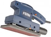 FERM PSM1027 Vlakschuurmachine - 135W – Klem- en klittenband bevestiging - 3m rubberen kabel