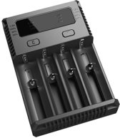 Nitecore Intellicharge New i4 4 chanel Intilligent charger for Li-ion/Nimh/Ni-Cd batteries