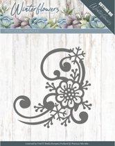 Dies - Precious Marieke - Winter Flowers - Snowflake flower corner