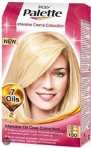 3x Poly Palette 100 Extra Licht Blond - Haarverf - Voordeel Verpakking