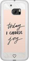 HTC 10 hoesje - Choose joy