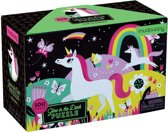 Mudpuppy Glow in Dark Puzzle - Unicorns - 100pcs