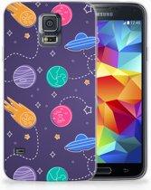 Samsung Galaxy S5 Uniek TPU Hoesje Space