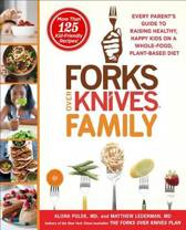 Boek cover Forks Over Knives Family van Alona Pulde (Hardcover)