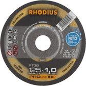RHOD slijpschijf XT38, doorslijpen, diam schijf 125mm, dikte 1.5mm