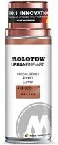 Molotow Urban Fine Art Spray - Koper Chrome Effect - 400ml spuitbus