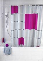 Douchegordijn - Polyester - Anti Schimmel - 180x200 cm - Abstract