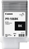 CANON PFI-106BK inktcartridge zwart standard capacity 130 ml 1-pack