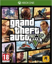 Cover van de game Grand Theft Auto 5 (GTA V) Xbox One