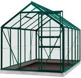 ACD serre 'Intro Grow Lily' gehard glas & aluminium groen 6,2 m²