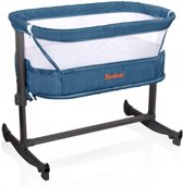 Baninni Co-sleeper Wieg Aan Bed Nesso Blue
