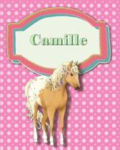 Handwriting and Illustration Story Paper 120 Pages Camille