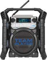 Perfectpro TEAMPLAYER Bouwradio DAB+ Bluetooth