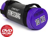 Gymstick Fitnessbag - 10 kg - Met Trainingsvideo's - Paars