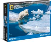 Clementoni Polar Bear - National Geographic 1000stuk(s)