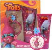 Trolls-Set:-50ml-Eau-de-Toilette-&-150ml-Glitter-Body-Lotion-fuchsia - Maat One-size