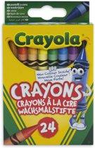 Crayola Wasbare Waskrijtjes - 24 Stuks