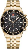 SWISS MILITARY HANOWA Flagship Chrono horloge  - Goudkleurig