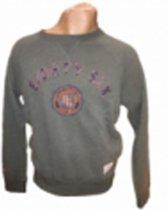 Eighty Six Ronde Hals Sweater Groen