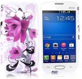 Lotus Silicone hoesje Samsung Galaxy Trend 2 SM-G313HN