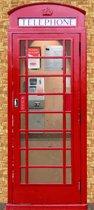 Papermoon Telefooncel Vlies Fotobehang 90x200cm