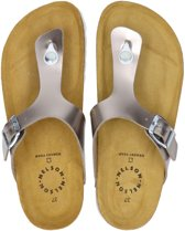 Nelson dames slipper - Taupe - Maat 42